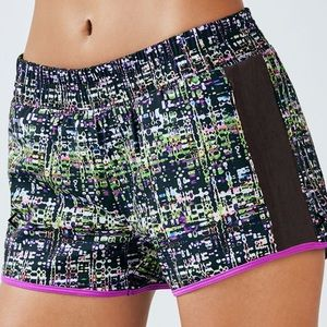 FABLETICS | Fallon Graphic Running Lined Shorts